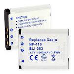 Casio EX-Z2300 Digital Battery BB-144425
