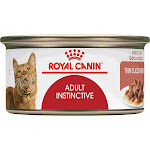 Royal Canin Adult Instinctive Thin Slices in Gravy Wet Cat Food Multipack, 3 oz., Count of 12, 12 CT
