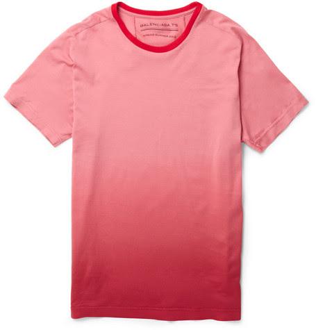 BalenciagaOmbre-effect Cotton-Jersey T-shirt