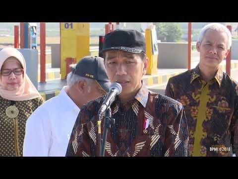 Resmikan Tol Sragen - Kartasura, Presiden Minta Angkat Kuliner Lokal di Rest Area