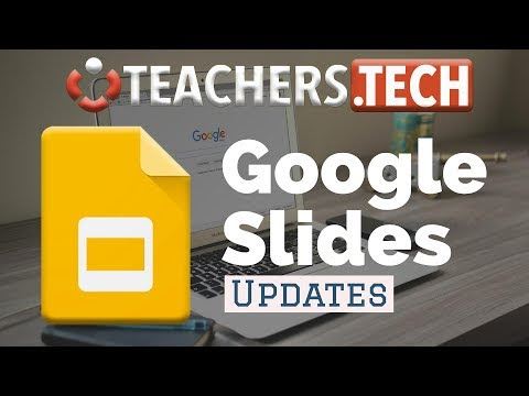 Google Slides - 6 New Features