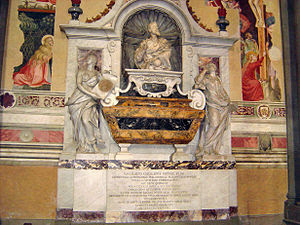 English: * Description: Tomb of Galileo Galile...