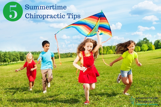 From Our Chiropractors: 5 Tips for a Fun, Healthy Summer -