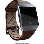 Fitbit Leather Band Watch Strap for Fitbit Ionic - Cognac