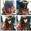 Red Ombre With Bangs - Gorgeous Ombre Hair Ideas From Our Reader | Ombre Hair