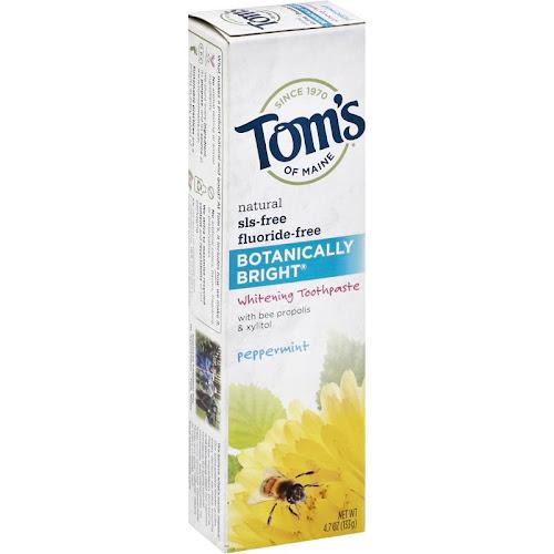 Tom's of Maine 4.7 oz. Botanically Bright Whitening Toothpaste Peppermint