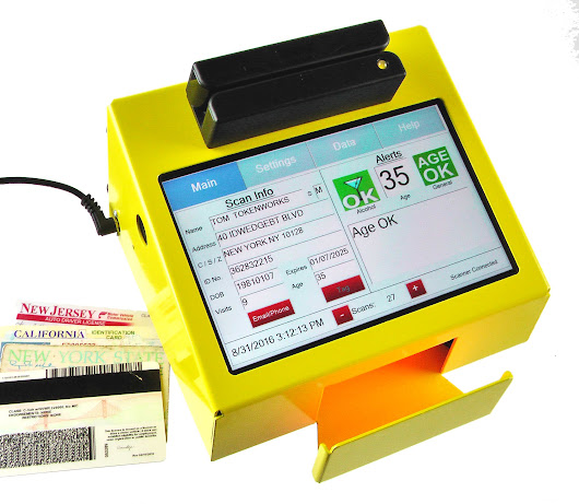 TokenWorks Introduces First Point-of-Sale POS Retail ID Scanner with PC-Grade Performance