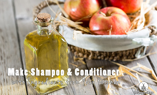 DIY: Make Your Own Natural Shampoo and Conditioner