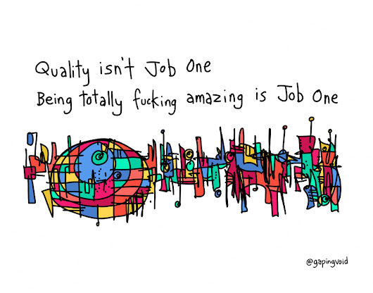 Being Amazing Is Job One