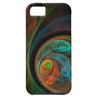 Rebirth Abstract Art iPhone 5 iPhone 5 Cases