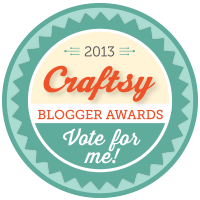 I'm up for a Craftsy Award!!