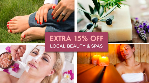 Groupon: Extra 15% Off Beauty & Spa Deals