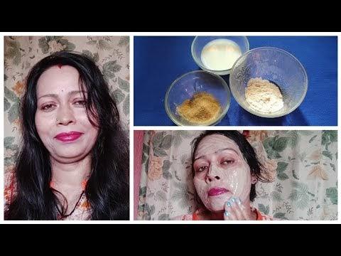 Fair Skin Permanently With Simple Mask   DIY Triphala Face Pack  Triphala for Skin Whitening