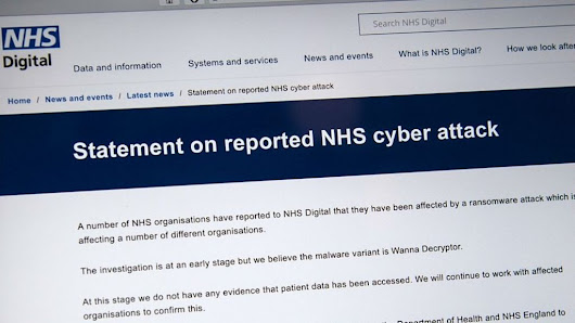 NHS cyber-attack: GPs and hospitals hit by ransomware - BBC News