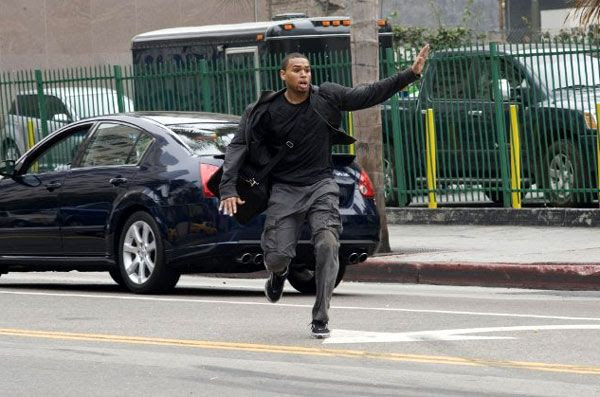 T.I. channels Jet Li/Jackie Chan/Chuck Norris/Jason Statham/Spider-Man in this scene from TAKERS.