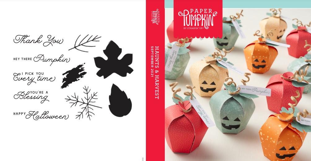 September 2021 Paper Pumpkin: Haunts & Harvest Stamp Case Insert
