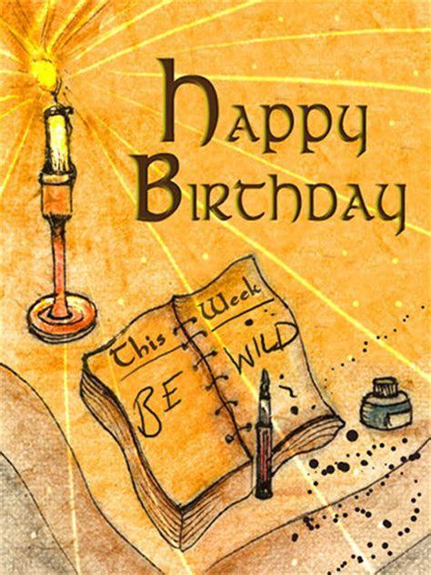 Be Wild On Your Birthday. Free Happy Birthday eCards