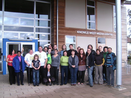 Outside Knowle West Media Centre