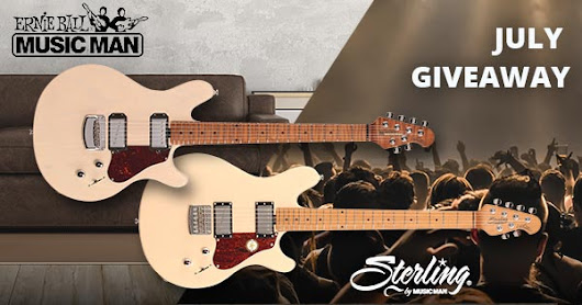 Ernie Ball Music Man/Sterling Giveaway - Enter Now!