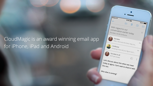 CloudMagic is an award winning email app for iPhone, iPad and Android