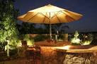 Newport Coast patio outdoor lighting - mediterranean - patio ...