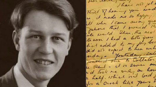 Forbidden love: The WW2 letters between two men - BBC News