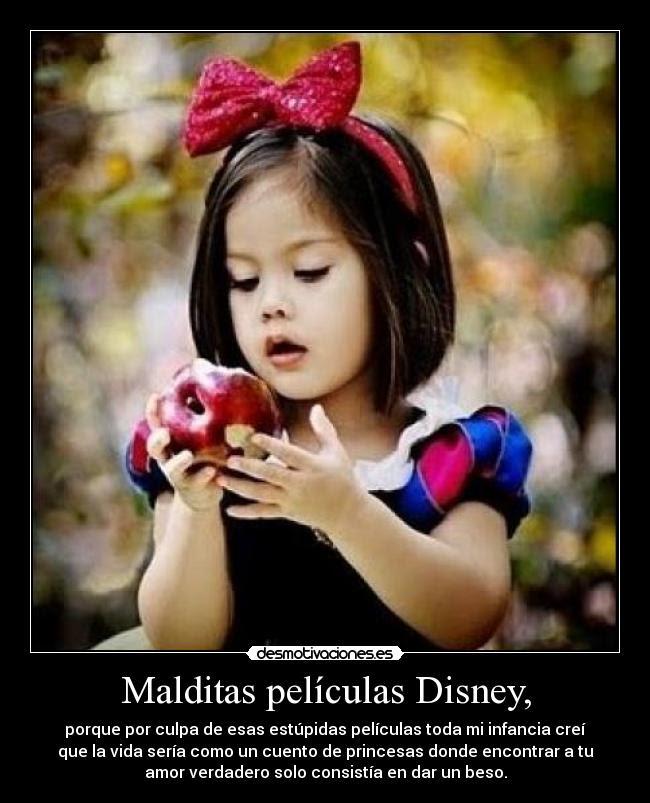 Malditas Peliculas Disney Desmotivaciones