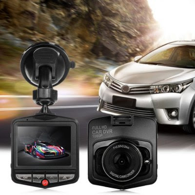GT300 1080P 2.4 inch Car Dashcam Video Recorder-18.68 and Free Shipping| GearBest.com