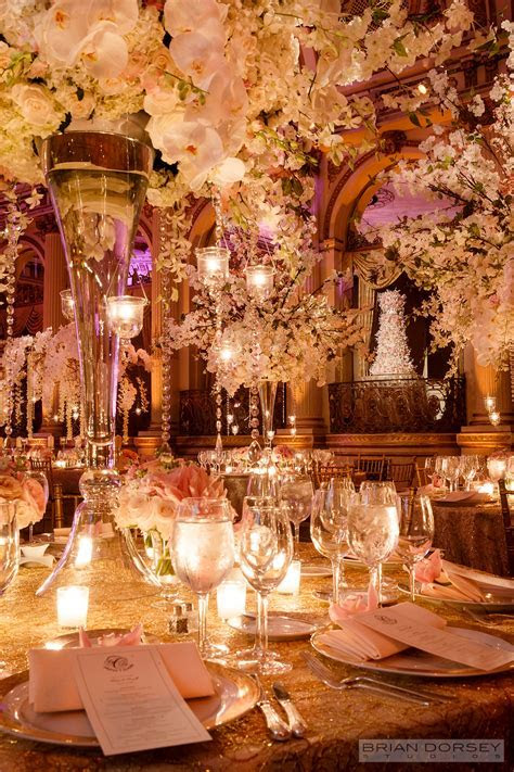 Diana and Russell?s Floral Fantasy Wedding   New York