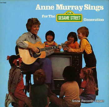 MURRAY, ANNE sings for the sesame street generation