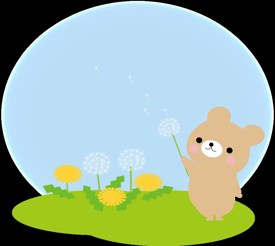 春 たんぽぽのイラスト 無料イラスト
