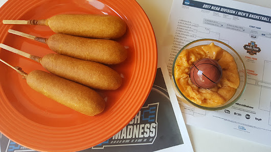 Foster Farms Snack Time Bracket Busters + Cheesy Dip Recipe & Corn Dog Giveaway #FFBracketBusters
