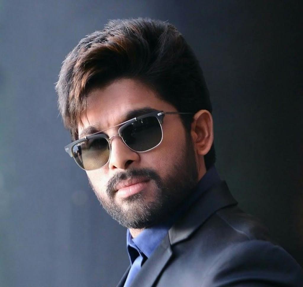 Best Hairstyle Allu Arjun   Hair Color Idea