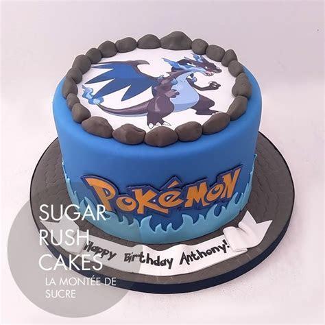 Pokemon cake for 8   Sugar Rush Cakes Montreal