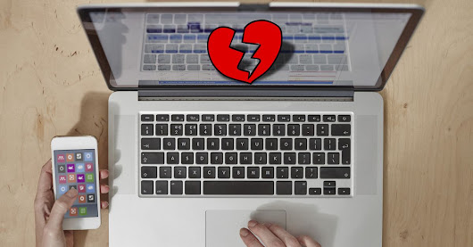 How to keep technology from mocking your broken heart