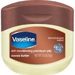 Vaseline Rich Conditioning Petroleum Jelly, Cocoa Butter - 7.5 oz jar