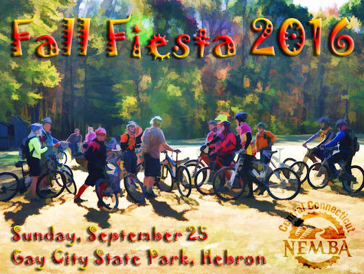 "Central CT NEMBA on Twitter: ""Fall Fiesta! Sun 9/25 at Gay City SP, Hebron.  """