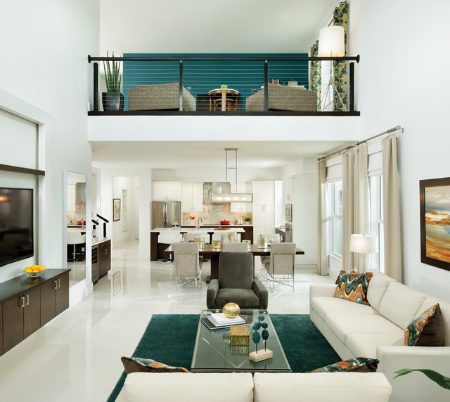 Model Home Interior Design | Hartman Design Group