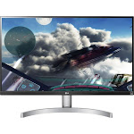 "LG - 27UL600-W 27"" IPS LED 4K UHD FreeSync Monitor with HDR - Silver/White"