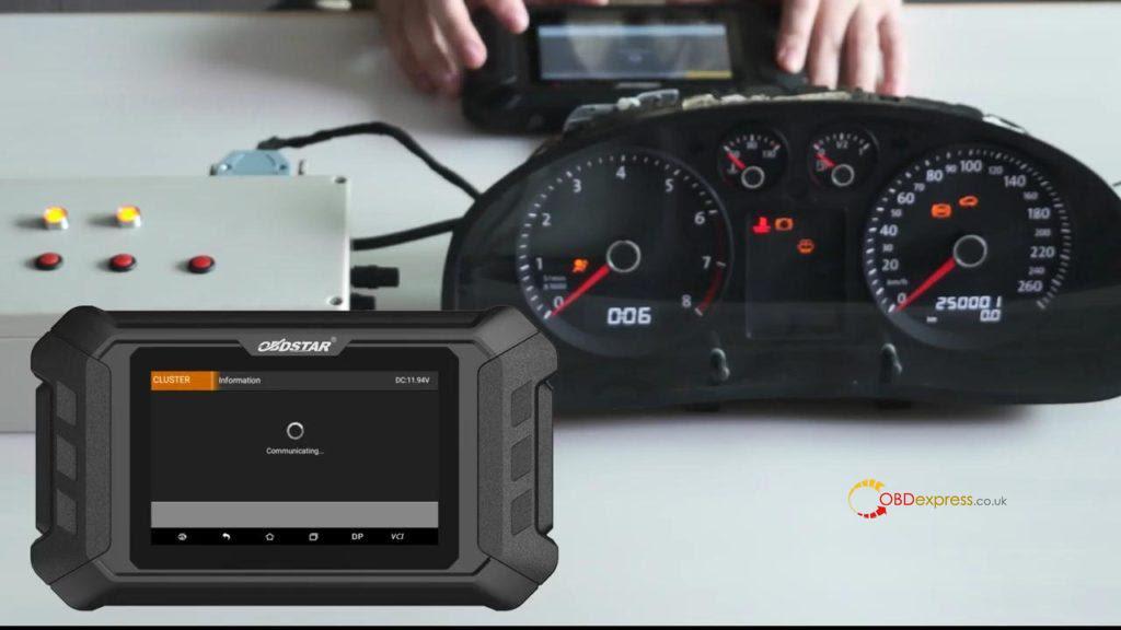 Obdstar Odo Mästare VW Passat vägmätare Correction 09