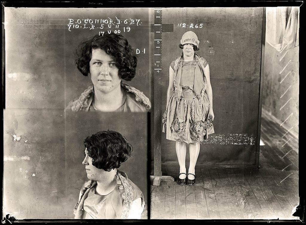 photo police sydney australie mugshot 1920 06 Portraits de criminels australiens dans les années 1920