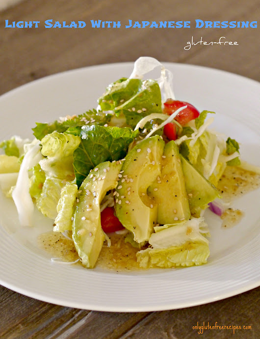Light Salad With Japanese Dressing
