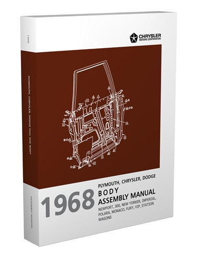 1968 Chrysler Dodge And Plymouth Big Car Electrical Assembly Manual Reprint