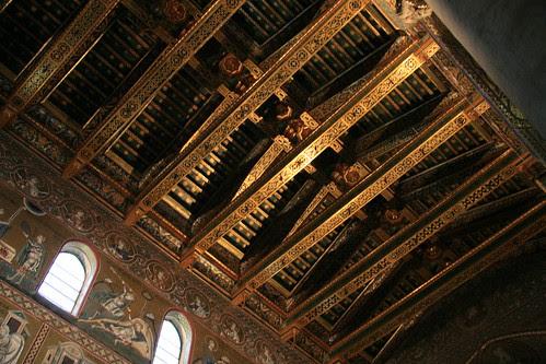 Duomo di Monreale ceiling