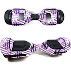 MightySkins SWT580-Purple Pentagon Skin Decal Wrap for Swagtron T580 Hoverboard Sticker - Purple Pentagon