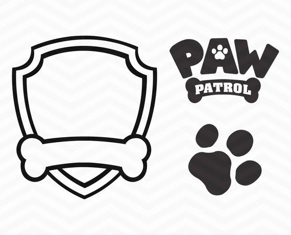 Paw Patrol Marshall Silhouette At Getdrawingscom Free For
