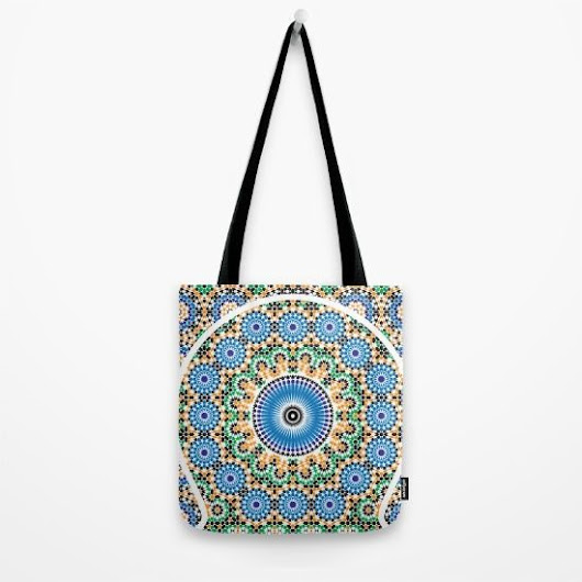 TOTE BAG (Mosaic Pattern)
