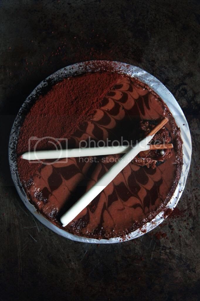 dessert - chocolate earl gray mousse cake
