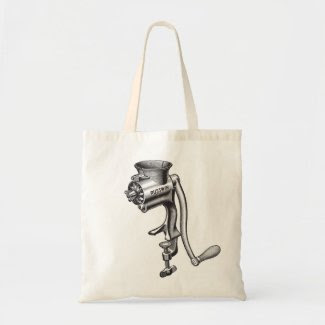 Sam the Butcher Tote bag