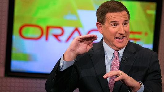 Oracle CEO Mark Hurd slams Amazon cloud as 'old' and says his company is gaining share | oraprofiles
